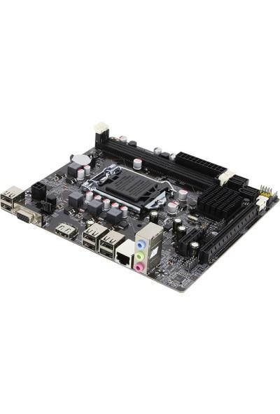 Turbox H61C DDR3 6xUSB 2.0 1xVga 1xHDMI 1155 Pin Anakart