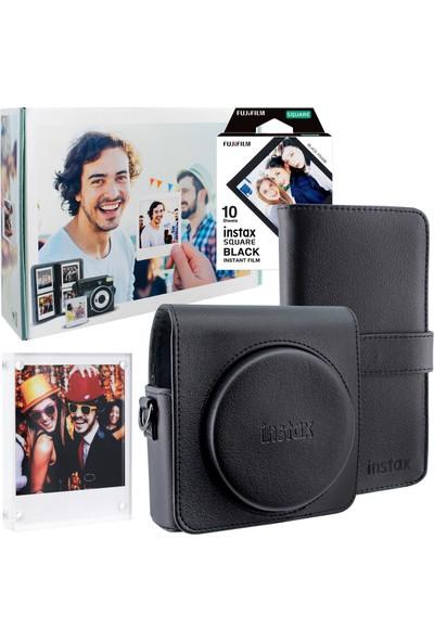 Fujifilm Instax Square Sq6 Siyah Aksesuar Seti