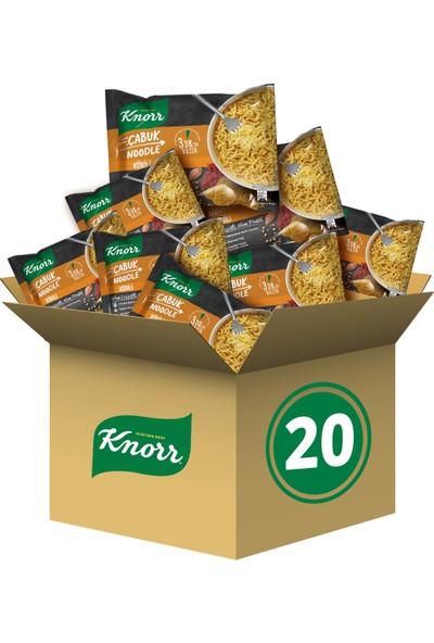 Knorr Körili Çabuk Noodle 20'li