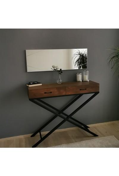 Neostill Dekoratif Ayna Duvar Salon Konsol Dresuar A320Y