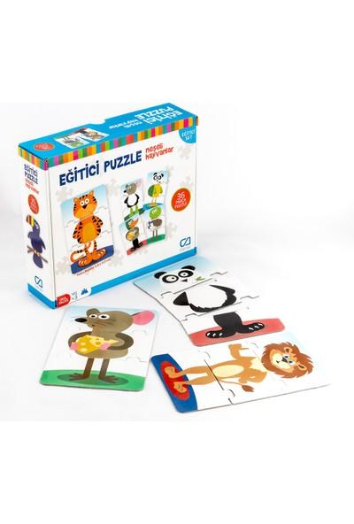 Ca Games 2'li Eğitici Puzzle SetI(5028-5031)