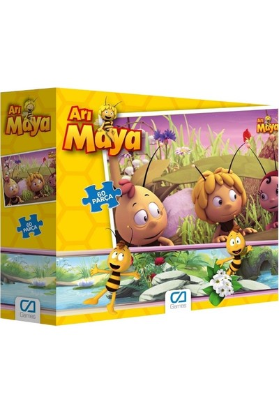 Ca Games 2'li 60 Parça Puzzle Set (5100-5094)