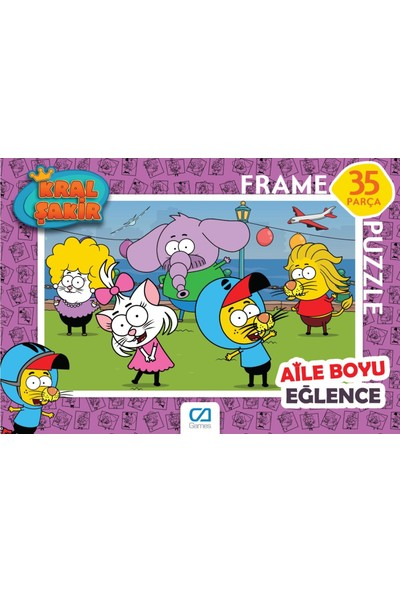 Ca Games Yeni Kral Şakir Frame Puzzle Set