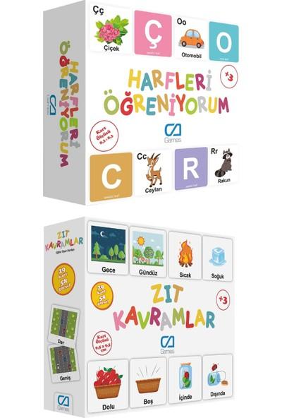 Ca Games 2'li Eğitici Oyun Kartları Süper Set(5042-5045)