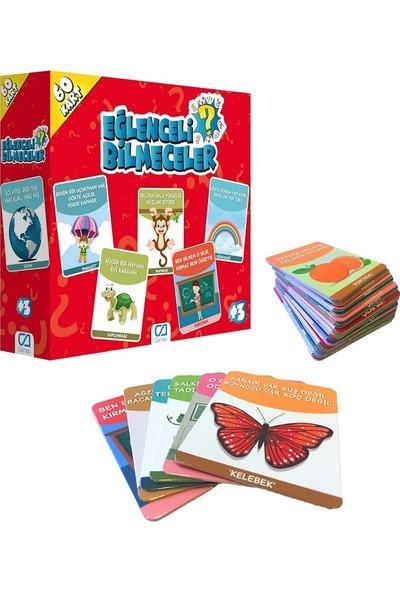 Ca Games 2'li Eğitici Oyun Kartları Süper Set(5042-5044)