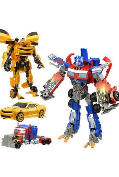 Toys e Toys Interchange Robota Dönüşebilen Optimus Prime ve Bumblebee