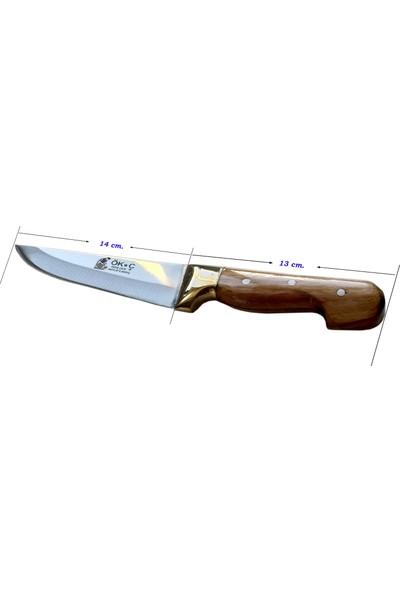 Hartlap Maraş El Yapımı Çelik Mutfak Bıçağı M1 Sarı Bilezik