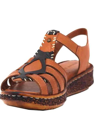 Marineshoes Deri Kadın Sandalet 20Y-099-102