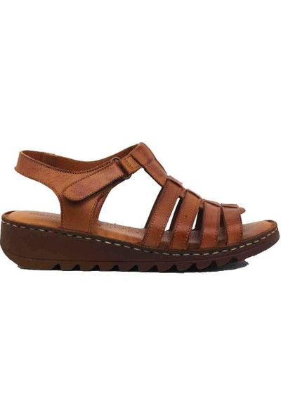 Marineshoes Deri Kadın Sandalet M020