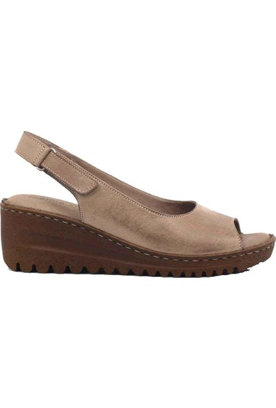 Marineshoes Deri Kadın Sandalet M033