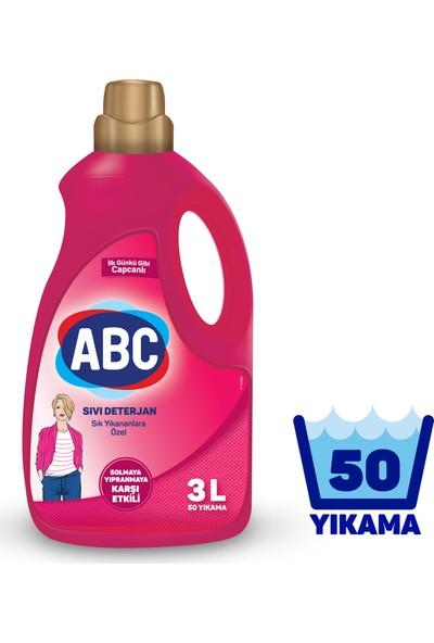 Abc Sıvı Çamaşır Deterjanı Sık Yıkananlar 3 L