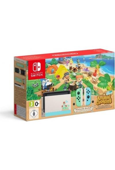 Nintendo Switch Konsol + Animal Crossing Oyun New Horizons Edition