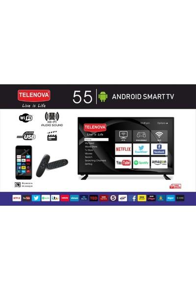 """Telenova 55S8001 55"""" 139 Ekran Full Hd Smart LED Tv"""