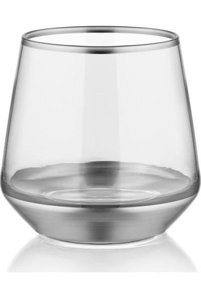 The Mia Glam Serisi 6'lı Gümüş Su Bardak Takımı GLM013