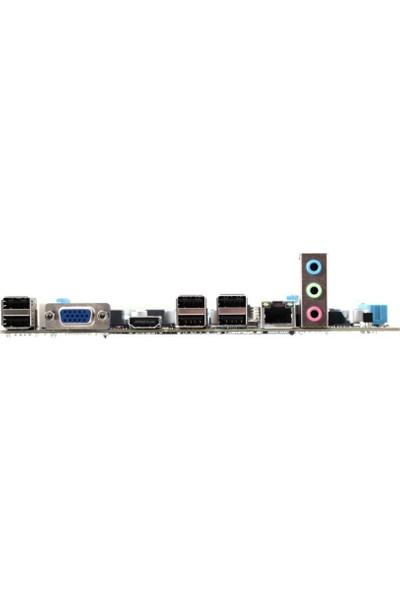 Esonic H61FFL Intel H61 1600MHz DDR3 1155 Pin mATX Anakart