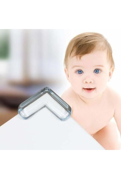 Agubugu Baby Slim Şeffaf Köşe Koruyucu 4 Adet
