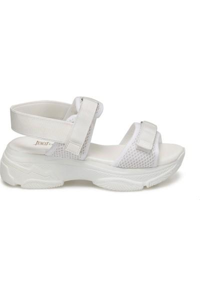 Butigo 20S-561 Beyaz Kadın Sandalet