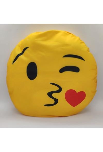 Mumu Emoji Yastık-Öpen Sürat Emoji Yastık