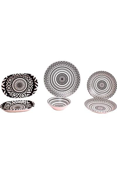 Keramika Porselen 20 Parça Yemek Takımı