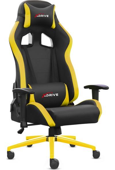 Xdrive 15'li Profesyonel Oyuncu Koltuğu Sarı Siyah