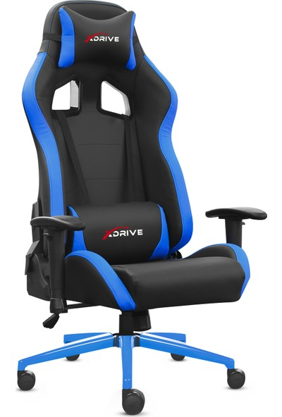 Xdrive 15'li Profesyonel Oyuncu Koltuğu Mavi Siyah