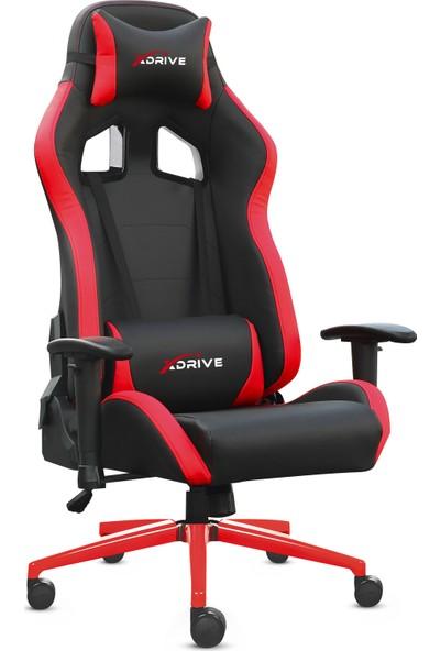 Xdrive 15'li Profesyonel Oyuncu Koltuğu Kırmızı Siyah
