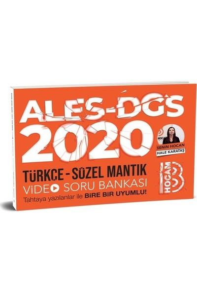 Benim Hocam Yayınları 2020 Ales Dgs Türkçe-Sözel Mantık Video Soru Bankası