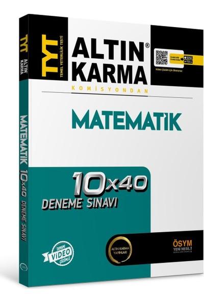 Altın Karma Yayınları 2020 TYT Matematik Deneme