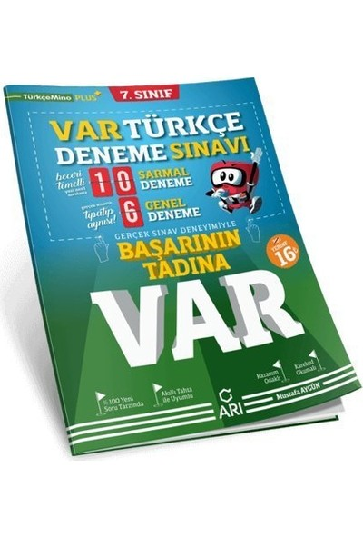 Arı Yayıncılık 7. Sınıf Türkçe Var Deneme Sınavı