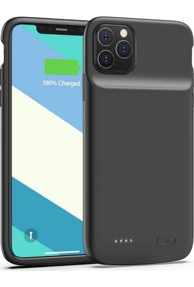 Teleplus Apple iPhone 11 Pro Şarjlı Kılıf Siyah