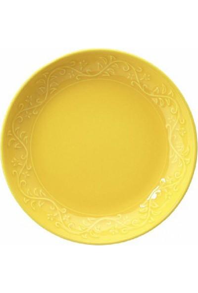 Kütahya Porselen Naturecream Yemek Tabağı Takımı