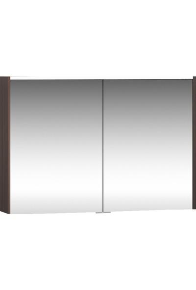 VitrA Metropole 58213 Aydınlatmalı Dolaplı Ayna 100 cm Erik