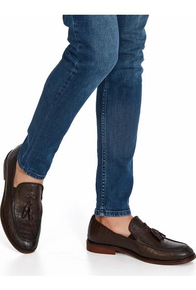 Muggo H052 Deri Casual Erkek Ayakkabı