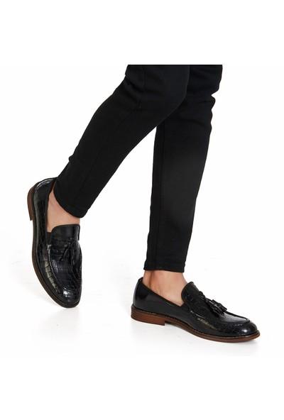 Muggo H053 Deri Casual Erkek Ayakkabı