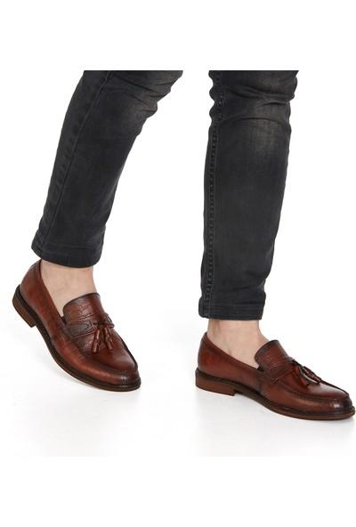 Muggo H054 Deri Casual Erkek Ayakkabı