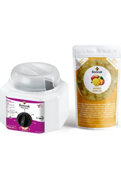 Vivol Soyulabilir İnci Boncuk Mango Ağda 1'li Set