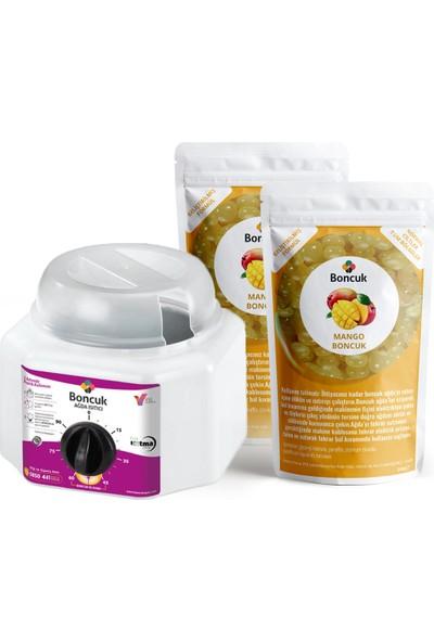 Vivol Soyulabilir İnci Boncuk Mango Ağda 2'li Set