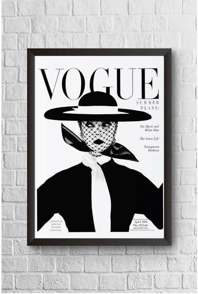 Lyn Home Vouge Çerçeveli Poster Tablo 23,5 x 33,5 cm