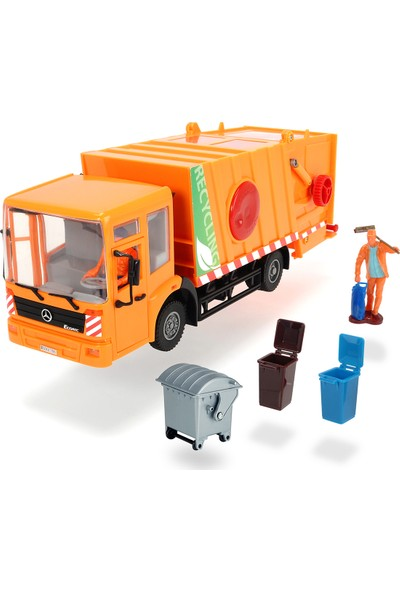 Dickie Toys Mercedes-Benz Econic City Service Çöp Kamyonu