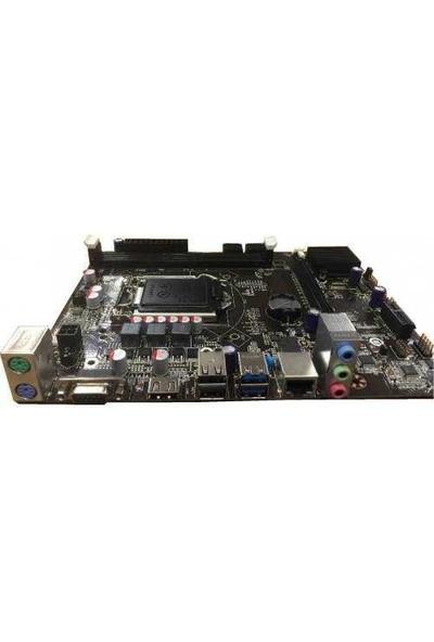 Seclife IH81-MA5 1600MHz DDR3 PCI Express 2.0 ATX Anakart