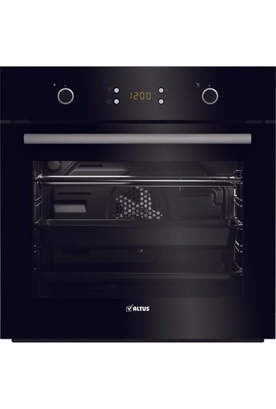 Altus Siyah Süper Ankastre Set (Ala 540 B Davlumbaz- Ala 185 GB Lpg Ocak- Ala 137 B Fırın)