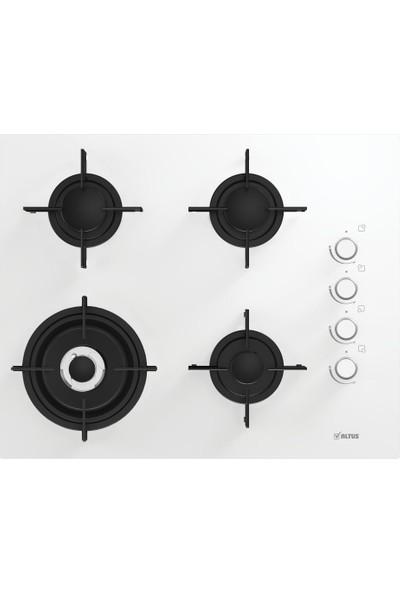 Altus Beyaz Süper Ankastre Set (Ala 540 W Davlumbaz - Ala 185 Gwd Doğalgaz - Ala 137 W Fırın)