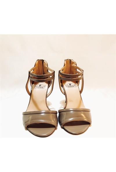 MİRANDA Vizon Topuklu Klasik Ayakkabı