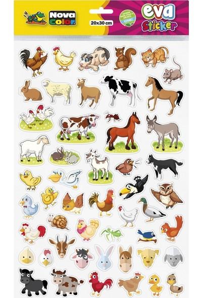 Nova Color 20 x 30 Evcil Hayvanlar Eva Sticker