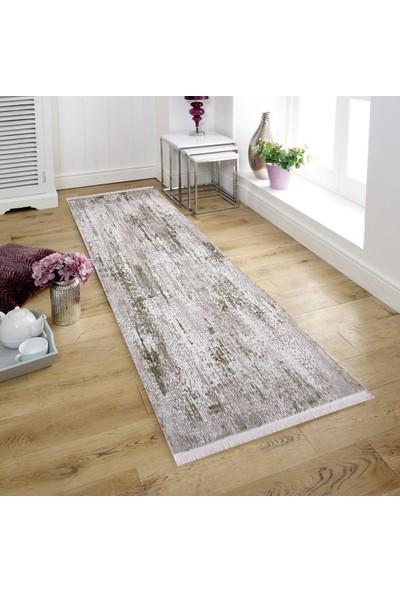 Halı Home Halı Soft 781 Gri En 80 cm Yolluk Halı 80 x 100 cm