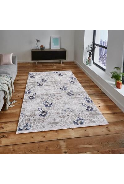 Halı Home Halı Soft 704 Gri En 150 cm Yolluk Halı 150 x 100 cm