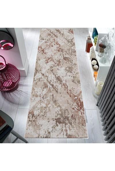 Halı Home Halı Lotus 8552 Bej En 100 cm Yolluk Halı 100 x 100 cm