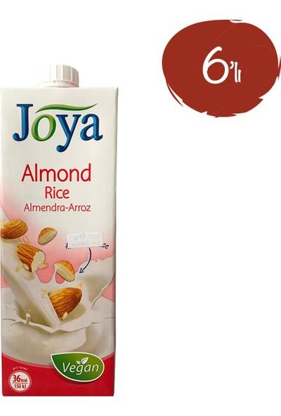 Joya Bademli Pirinçli Süt 1 lt - 6 Paket