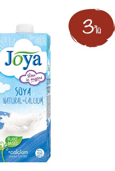 Joya Kalsiyum İlaveli Soya Sütü 1 lt - 3 Paket
