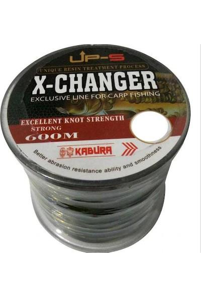 Kabura x -Changer 600 Metre 0.35 mm Carp Misina